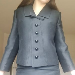 Pristine 1960s tailor made  skirt suit set SZ 4